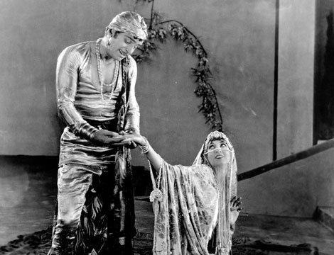 Thief of Bagdad with Fairbanks & Johnston