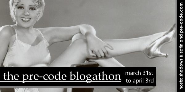 Pre-Code Blogathon 2015 Banner