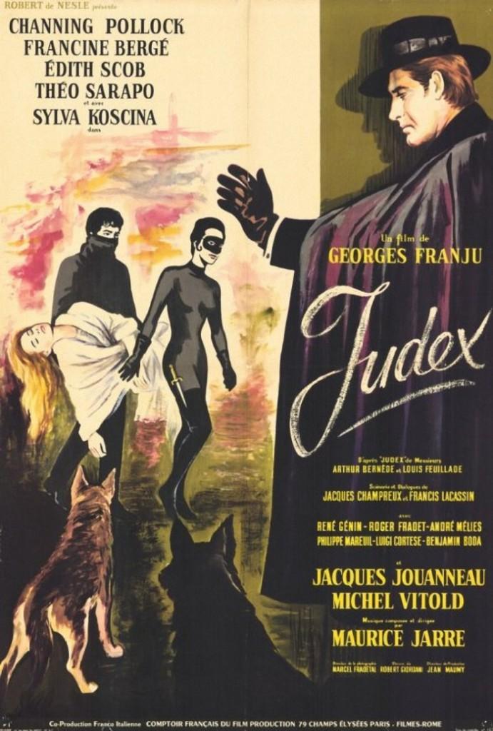 Judex 1963 Poster