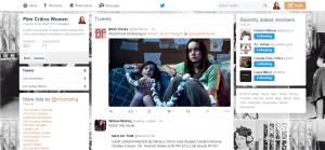My Twitter Film Critics List Screenshot