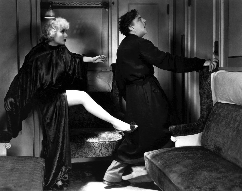 Twentieth Century's Carole Lombard and John Barrymore